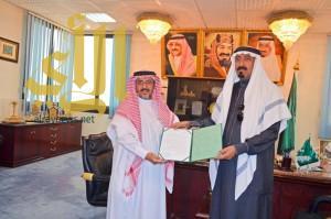 رئيس غرفة نجران يستقبل مساعد مدير التعليم بالمنطقة