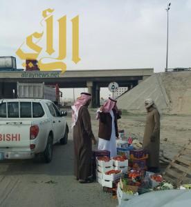 بلدية شرق الدمام: تنفيذ حلمة شاملة على الباعة المتجولين المخالفين