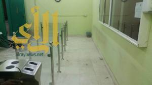 كلية التربية بوادي الدواسر تبدأ في تركيب بوابات إلكترونية بنظام البصمة