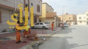 """بلدية الجبيل تبدأ بحملة الـ """"100"""" يوم لنظافة محافظة الجبيل"""