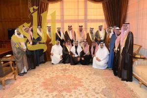 أمير عسير يستقبل رئيس وأعضاء المجلس البلدي بأبها