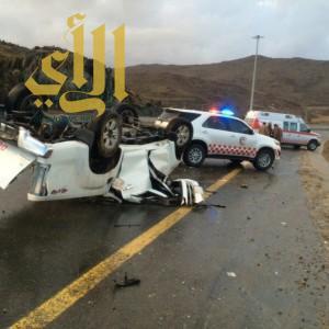 """أمطار """"الباحة"""" تخلف حالة وفاة و""""15″ إصابة"""