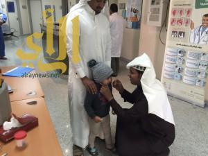انطلاق حملة التطعيم ضد شلل الاطفال بطريب