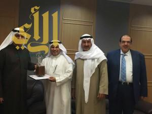 القحطاني يشارك بمهرجان القرين للطوابع البريدية بالكويت