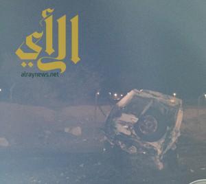 وفاتين و 13 إصابة بحادث مروري في مركز العرين
