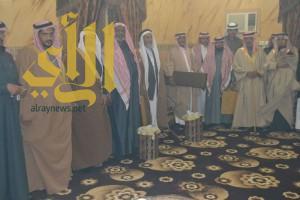 عدد من مشائخ اليمن والسعوديه في ضيافة الأستاذ غرم الله محيميد العلياني