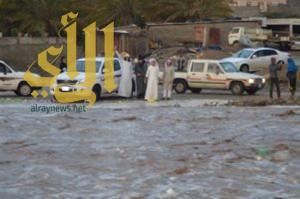 بالفيديو والصور .. أمطار غزيرة على بلقرن وجريان الأودية بمركز شواص