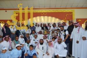 كشافة محايل عسير يحتفلون بالقائد الكشفي شامي الصحبي