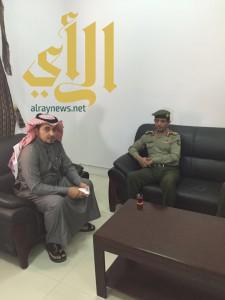 مدير جوازات منطقة عسير يتفقد شعبة الجوازات بمحافظة تثليث
