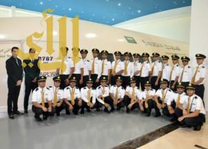 """""""السعودية"""" تؤهل 282 ملاحاً للعمل على متن طائرات دريملاينر الجديدة"""