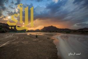 بالصور والفيديو أمطار محافظة طريب والمراكز التابعه لها