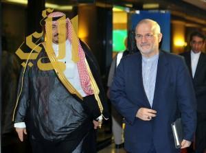 أعضاء السفارة والقنصلية الإيرانية يغادرون المملكة