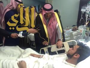 ولي العهد يصل الأحساء لتقديم واجب العزاء لأسر ضحايا تفجير مسجد الرضا