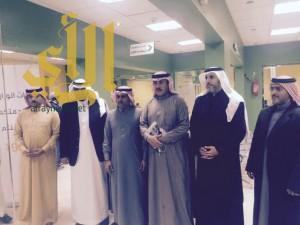 مركز الأمير مشاري للجودة وتحسين الأداء يطلع على أحدث الاجرات الإدارية بمكتب عمل المنطقة