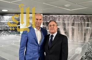 """زيدان"" مدربا لريال مدريد.. رسميا"