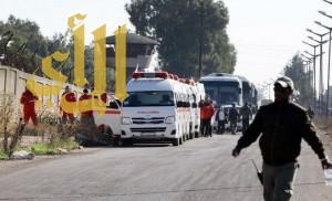 دخول أول قافلة إغاثية إلى مضايا السورية