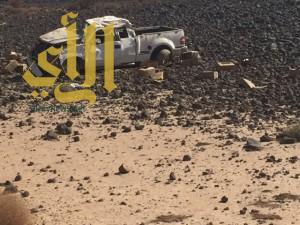 إصابة مواطن في حادث مروري على طريق المدينة المهد