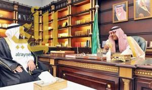 أمير الباحة يستقبل مدير عام هيئة الهلال الأحمر بالمنطقة