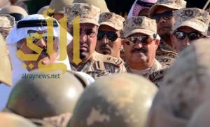 وزير الحرس الوطني يزور وحدات لواء الملك عبدالعزيز الآلي بالأحساء