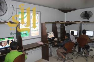 المركز السعودي للتعليم و التدريب بمخيم الزعتري يخرج 80 متدرباً