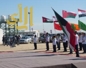كشافة المملكة تبدأ نشاطها في مخيم 69 بالكويت