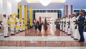 ولي عهد أبو ظبي يستقبل ولي ولي العهد