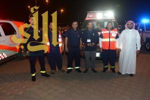 """الهلال الأحمر بالمدينة المنورة يشارك في فعالية """"المشي"""" بالمنطقة"""