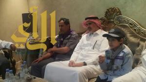 الكشافة يزورون أسرة شهيد الوطن الملازم سعود بن رخيص