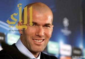 زيدان: ما أقوم به مع ريال مدريد ليس سهلاً