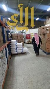 أمانة عسير تغلق 14 محل ومستودع ومصنع حلويات بابها