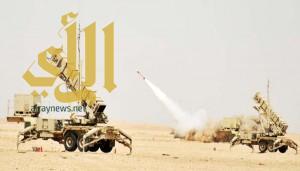 قوات الدفاع الجوي تتصدى لصاروخين أطلقهما الحوثيون