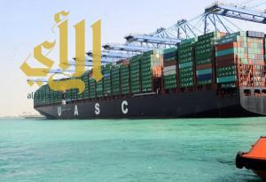 """ميناء جدة الإسلامي يستقبل """" النفود """" أكبر سفن نقل الحاويات في العالم"""