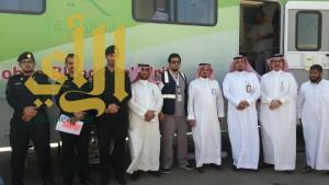 اختتام حملة التبرع بالدم بمستشفى الخميس العام