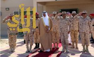 سمو وكيل الحرس الوطني للقطاع الشرقي يفتتح مباني ومعسكرات جديدة