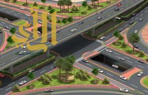 البدء بتنفيذ المرحلة الأولى من مشروع جسر الملك عبدالعزيز بالدمام
