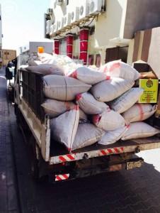 بلدية الدوادمي تصادر كمية من الخلطات العشبية مجهولة المصدر