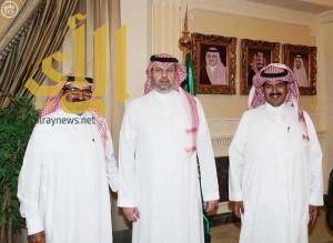 الرئيس العام لرعاية الشباب يستقبل الرحاله ناصر القحطاني