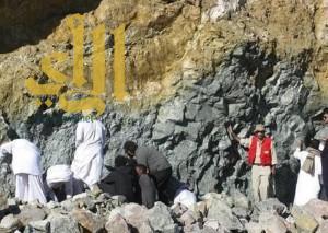 """""""هيئة المساحة الجيولوجية"""" : ما تم اكتشافه في الطائف ذهب خادع"""