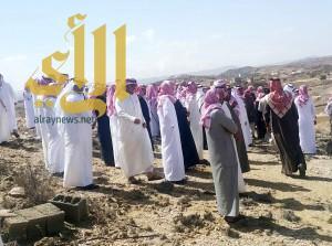 آل السواد يشيعون الطالب آل فهيد في مركز الفرعين