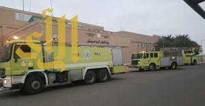 إخلاء ستة أطفال من حضانة مستشفى أبو عريش بسبب التماس كهربائي