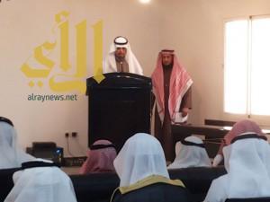 """محافظ القرى يدشن مشروع التوعية الفكرية """" أمان """""""