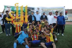 قسم التقنية الكهربائية يحقق بطولة الكلية التقنية بنجران لكرة القدم