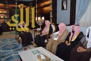 أمير منطقة الباحة يستقبل الرئيس العام لهيئة الأمر بالمعروف والنهي عن المنكر