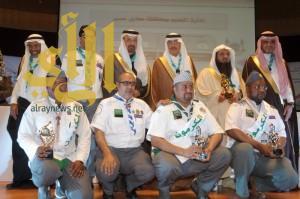 وزير التعليم يُكرم شركاء النجاح والمتميزين في خدمة الحجاج والبيئة