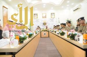 اجتماع تنسيقي وورشة عمل بين شرطة منطقة الجوف وفرع هيئة التحقيق والادعاء العام بمنطقة الجوف