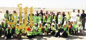 """بلدية النعيرية تشارك في حملة """"بيئة بلا نفايات"""" لمدة ثلاثة أيام"""