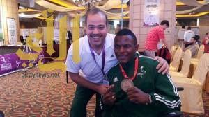 هوساوي يحصد الذهبية بماليزيا لذوي الاحتياجات الخاصة