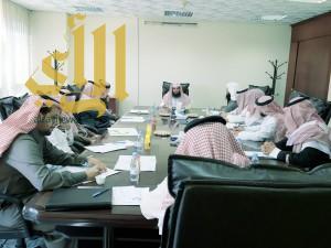 المدير العام لفرع وزارة الشؤون الإسلامية بعسير يجتمع بمدراء الإدارت الداخلية بالفرع