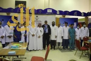 بتنظيم من كلية طب الأسنان بجامعة نجران