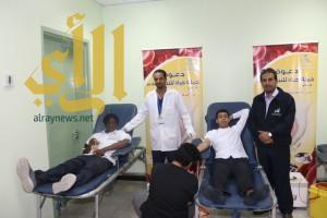 """للمرة الثانية و""""تقنية المدينة"""" تنظم حملة تبرع بالدم نصرة لجنودنا البواسل"""